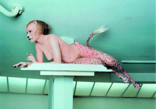 Aimee Mullins in MAtthew Barney's Cremaster 3
