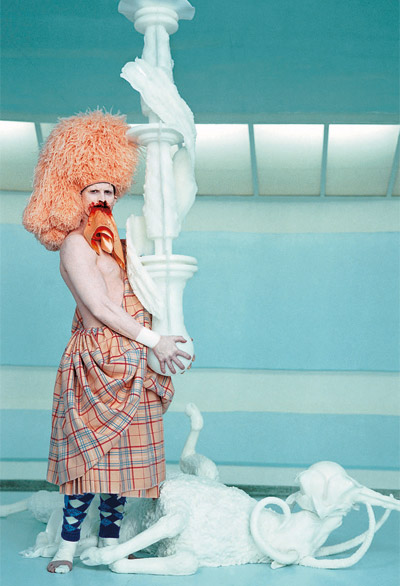 """The Cremaster Cycle"" by Matthew Barney."