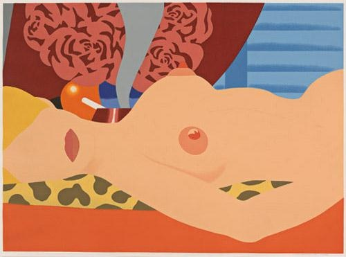 """Nude (For Sedfre)"" by Tom Wesselmann, 1969."